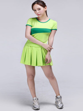 Anime Costumes AF-S2-582973 Halloween Green Football Baby Cheerleader Polyester Costume