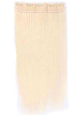 Anime Costumes AF-S2-583141 Ivory Straight Fiber Hair Extensions for Women