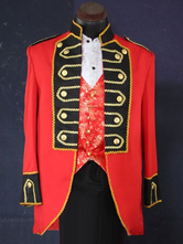 Anime Costumes AF-S2-583785 Baroque Multicolor Royal Court Synthetic Costumes For Men