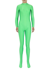 Anime Costumes AF-S2-585287 Halloween Green Zentai Slim Fit Spandex Trendy Jumpsuit for Women