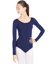 AF-S2-585343 Azure Blue Ballet Dance Costume Slim Fit Lycra Spandex Teddies for Women