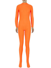AF-S2-585271 Halloween Orange Zentai Sexy Spandex Jumpsuit for Women