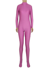 AF-S2-585269 Halloween Fuchsia Zentai Sexy Spandex Jumpsuit for Women
