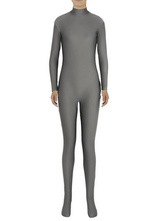 Anime Costumes AF-S2-585289 Halloween Deep Gray Zentai Slim Fit Spandex Jumpsuit for Women