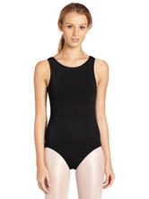 AF-S2-585231 Black Ballet Dance Costume Lycra Teddies for Women