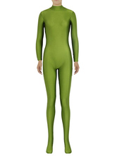 Anime Costumes AF-S2-585301 Halloween Pear Green Zentai Slim Fit Spandex Jumpsuit for Women