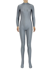 Anime Costumes AF-S2-585309 Halloween Pewter Gray Zentai Slim Fit Spandex Jumpsuit for Women