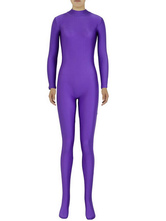 Anime Costumes AF-S2-585267 Halloween Royal Purple Zentai Sexy Spandex Jumpsuit for Women