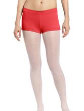 AF-S2-585321 Red Ballet Dance Shorts Lycra Shorts for Women