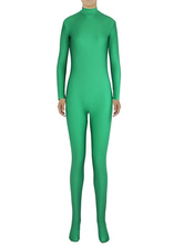 Anime Costumes AF-S2-585297 Halloween Green Trendy Zentai Slim Fit Spandex Jumpsuit for Women