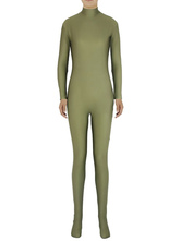 Anime Costumes AF-S2-585303 Halloween Pickle Green Zentai Slim Fit Spandex Jumpsuit for Women