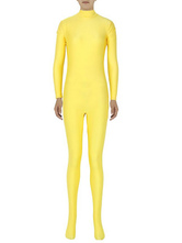 Anime Costumes AF-S2-585273 Halloween Yellow Zentai Slim Fit Spandex Jumpsuit for Women