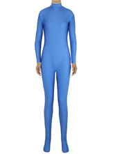 Anime Costumes AF-S2-585263 Halloween Blue Zentai Sexy Spandex Jumpsuit for Women