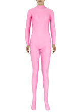 Anime Costumes AF-S2-585281 Halloween Pink Zentai Slim Fit Spandex Jumpsuit for Women