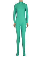 Anime Costumes AF-S2-585279 Halloween Fern Green Zentai Slim Fit Spandex Jumpsuit for Women