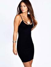 Burgundey Bodycon Dress cintas acetato Backless verão vestido