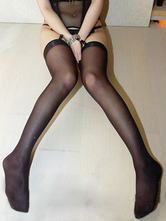 Anime Costumes AF-S2-586849 Halloween Black Stockings Angel Cosplay Spandex Stockings for Women