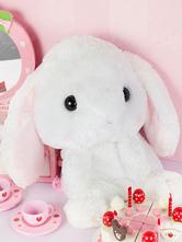 Lolitashow White Lolita Bag Rabbit Animal Chic Synthetic Bag for Women