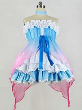 LoveLive ! Toussaint Cosplay Minami Kotori Ruffles Costume synthétique  Déguisements Halloween