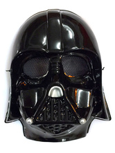 Anime Costumes AF-S2-593977 Star Wars Mask Black Chic PVC Cosplay Costume