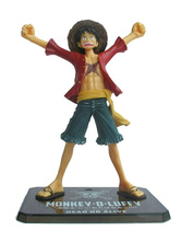 Anime Costumes AF-S2-594009 One Piece Luffy PVC Figure 2 Years After Version