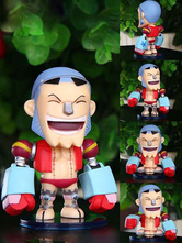 Anime Costumes AF-S2-593979 Franky One Piece PVC Cosplay Figure