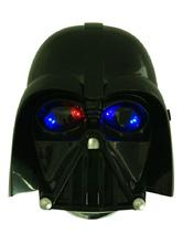 Anime Costumes AF-S2-593973 Star Wars Mask Black PVC Cosplay Costume