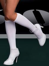 Горничная косплей носки белые & черный  Хэллоуин