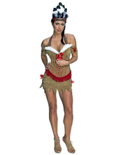 Anime Costumes AF-S2-595061 Halloween Adult Native American Princess Costume