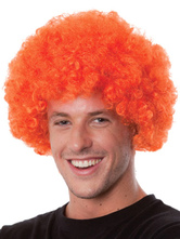 Anime Costumes AF-S2-595511 Halloween Clown Orange Unisex Funny Wig