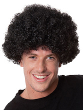 Anime Costumes AF-S2-595517 Halloween Clown Black Unisex Funny Wig