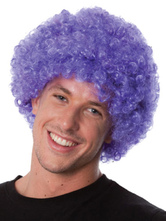 Anime Costumes AF-S2-595499 Halloween Clown Purple Unisex Funny Wig