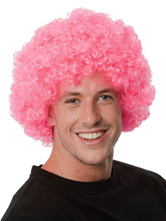 Anime Costumes AF-S2-595521 Halloween Clown Pink Unisex Funny Wig