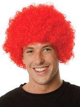 Anime Costumes AF-S2-595515 Halloween Clown Red Unisex Funny Wig