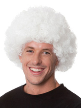 Anime Costumes AF-S2-595523 Halloween Clown White Unisex Funny Wig
