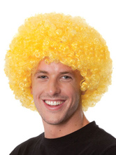 Anime Costumes AF-S2-595513 Halloween Clown Yellow Unisex Funny Wig
