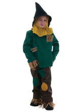 Anime Costumes AF-S2-599347 Multicolor Scarecrow Costume Polyester Kid Costume