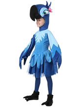Anime Costumes AF-S2-599339 Blue Parrot Costume Polyester Kid Costume