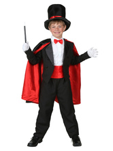 Anime Costumes AF-S2-599323 Multicolor Magician Costume Polyester Kid Costume