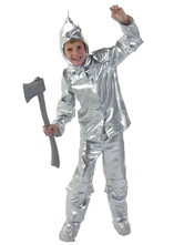 Anime Costumes AF-S2-599337 Silver Fairytale Costume Polyester Kid Costume