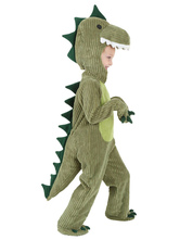 Anime Costumes AF-S2-599333 Green Dinosaur Costume Polyester Kid Costume