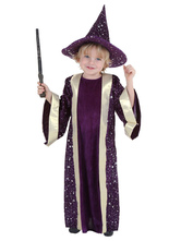 Anime Costumes AF-S2-599345 Multicolor Magician Costume Polyester Kid Costume