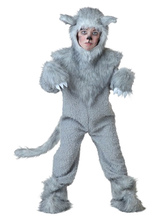 Anime Costumes AF-S2-599311 Gray Wolf Chic Costume Polyester Kid Costume