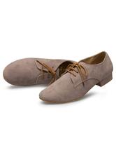Zapatos encaje gris Latin Dance baile zapatos de la PU para los hombres 3hglKvKnn