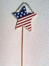 Anime Costumes AF-S2-603075 Independence Day American Flag Star Decors