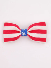 Anime Costumes AF-S2-603107 Independence Day Red Stripes Trendy Bow Hair Accessories