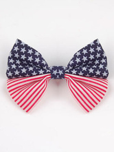Anime Costumes AF-S2-603099 Independence Day Chic Print Bow Hair Accessories