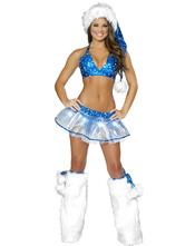 Anime Costumes AF-S2-603147 Halloween American Symbol Club Dancing Spandex Costume
