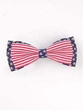 Anime Costumes AF-S2-603101 Red Independence Day Print Bow Hair Accessories