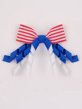 Anime Costumes AF-S2-603087 Independence Day Blue Stripes Bow Hair Accessories